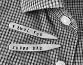 Collar Stays I Love You Super Dad
