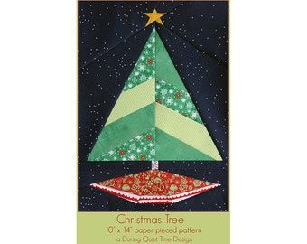 Christmas Tree Paper Pieced Pattern
