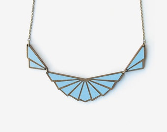 HIRONDELLE ROYAL COBALT, Art Deco Collection by Materia Rica