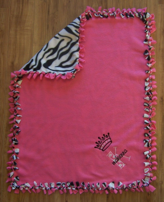 Items similar to Custom Fleece Blanket Personalized Baby ...