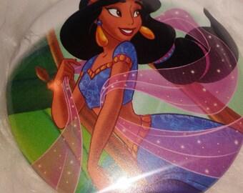 Disney Princess Jasmine Aladdin 2.25 Pocket Mirror