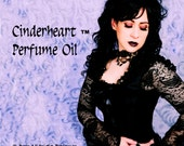 CINDERHEART™ Perfume Oil - Black Amber, Oak Wood, Black Pepper, Cardamom, Vetiver, Patchouli, Cloves, Cashmere - GOTHIC Valentine's Perfume