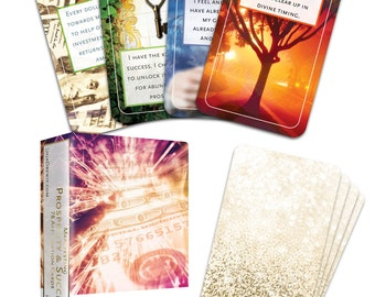 Manifesting Prosperity and Success Affirmation Card Deck