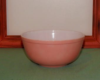 Pyrex Vintage Nesting Bowl - 403 - Pink - 1956...Pretty in Pink....Pink Pyrex...Pyrex Nesting Bowl....Pyrex Spring Colors - Pyrex Pastels