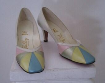 Pastel 1960s Vintage Heels