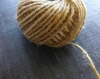 Jute String Jute Cord Natural Jute Twine Burlap String 10ft 2mm thickness
