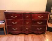 Nine-drawer, Waving, Union Jack Dresser