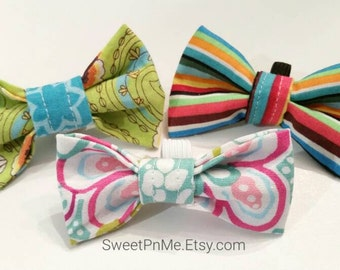 "3in"" bowties fits cat, puppy, or small dog"