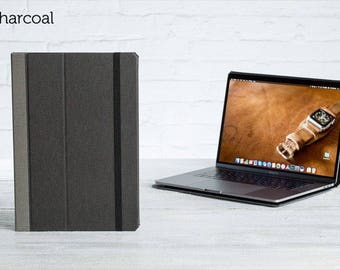 SECONDS - The Cartella Slim Case for 2016 Macbook Pro 15 - Charcoal