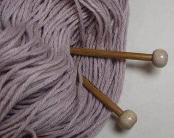 Smoke Grey Naturally Dyed Wool Yarn