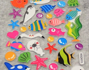 Mixed Underwater Stickers