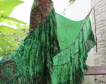 Ariel on Earth Ruffle Wrap Skirt - G0517-05