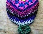 Colorful Crocheted bandana