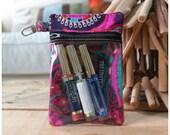 Makeup case - lipstick case - lipsense case - makeup pouch