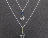 Shadow Cats Necklace