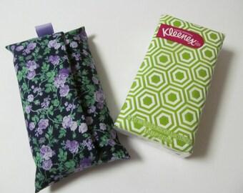 Tissue Case/Purple Flower
