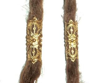 brass dread bead