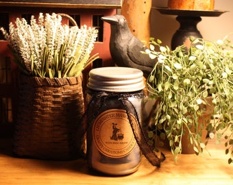 Witches Brew- Mason Jar Candle