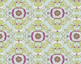 40% OFF SALE - Light Chic Paper (PA-303) - Paradise by Patricia Bravo - Art Gallery Fabrics - By the Yard