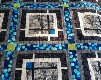 Earthy Handmade Quilt