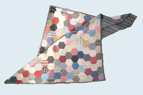1930s Hexagon Quilt