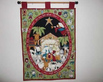 Christmas Advent Calendar - Nativity - Do You See What I See?