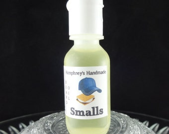 SMALLS Beard Oil, Cologne Oil, Small .5 oz S'mores Scented Beard Conditioner, Natural Serum, Apricot Oil, Avocado Oil Chocolate Marshmallow