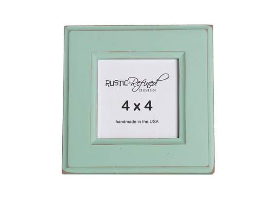 4x4 Moab picture frame - Seafoam Green
