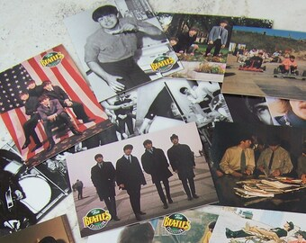 Vintage Beatles Trading Card Collection River Group 1993 Set Of 25 Beatles Cards