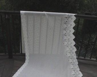 Filet crochet panel | Etsy