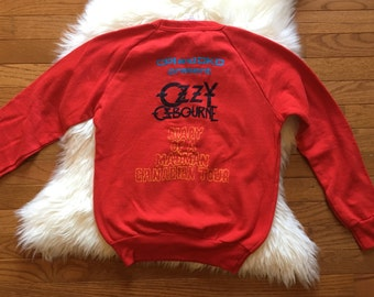 1980 Ozzy osbourne diary of a madman sweatshirt