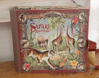 G45 Safari Adventure 8x8 Scrapbook Album
