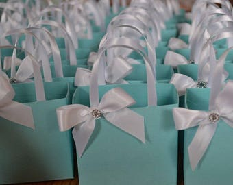 Blue party favor bags for any occasion
