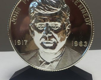 JFK Coin Bank by Astro Co Detroit Michigan