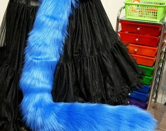 Royal Blue Kitty Tail