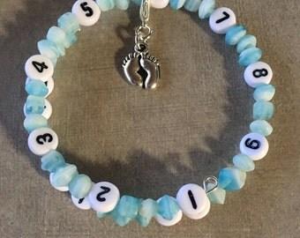 ONLY ONE!! Breast or Bottle feeding time keeping bracelet