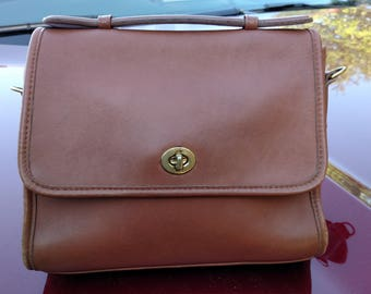 Vintage COACH Crossbody Bag / Satchel 'no strap'