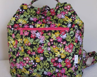 Machine Quilted Backpack