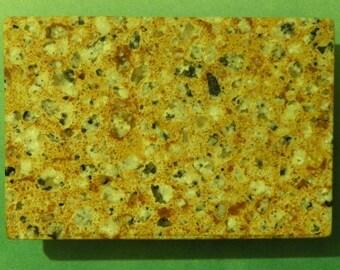 Speckle  granite Belt Buckle  #1007