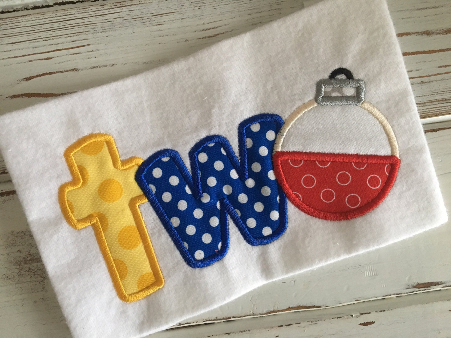 Fishing Cork Two Birthday Fishing Lure Applique Embroidery ...