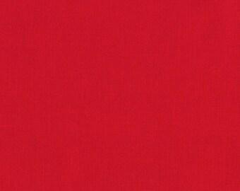 Red, Kona Cotton, Robert Kaufman Fabrics, 1/2 Yard