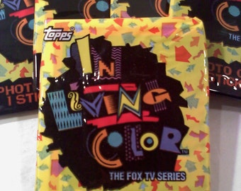 In Living Color Trading Cards, 1 Unopened Pack