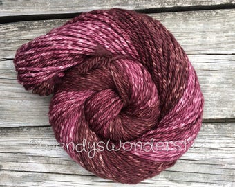 Bulky Yarn, Hand Dyed Yarn, Gradient Yarn, Merino Wool, 130 yards