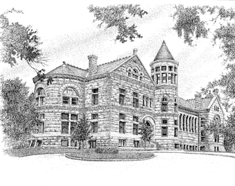 Maxwell Hall, IU Bloomington, Digital Download