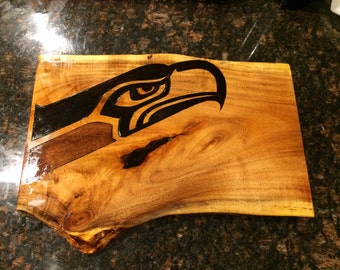 Custom cutting board your design NFL football cowboys packers steelers Seahawks raiders patriots gift tailgate football party super bowl