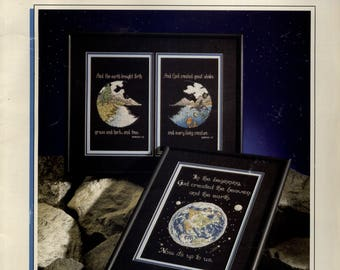 Kyle Hollingsworth: A Heavenly view of Planet Earth (OOP) - a Color Charts Cross Stitch Pattern