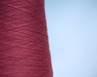 Wool Blend Yarn for machine knitting - red