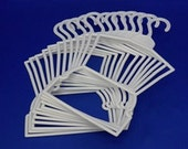 """4 dozen  (48) outfit hangers.  Doll clothes """"Outfit Hangers"""" for 18"""" doll clothes"""