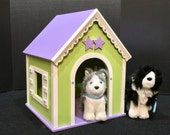 RESERVED: American Girl doll dog house Jill's  Whimsy Greenhouse, large size