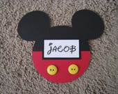 Custom Order for Jessica  - One Personalized Princess Mickey Head Icon